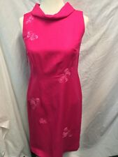 """TALBOTS Tailored LINEN BLEND LINED SHEATH PARTY DRESS SIZE 2P PETITES CHEST 33"""""""