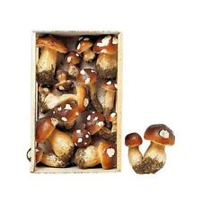 Stafil Decorative Plastic Mushrooms 15pcs Assorted