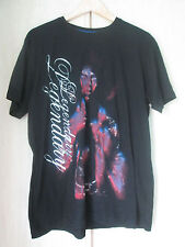 mens JIMI HENDRIX BLACK COTTON CREW NECK T SHIRT SIZE LARGE