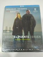Bron el Ponte Broen Seconda Stagione 2 Completa Blu-Ray Spagnolo Danes Nuovo