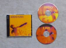 "CD AUDIO MUSIQUE  / INDICHINE ""INDO LIVE"" 20T 2XCD ALBUM 1997 UNE U10072"