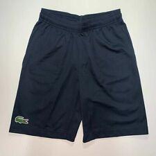 Lacoste Boys Sport Tennis Shorts 10 12 14 16 Navy Blue Product Ref GJ4244