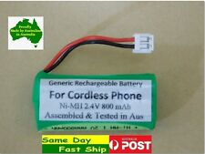 Generic 2.4V NiMH replacement battery for Uniden XDECT cordless R005 R035BT R055