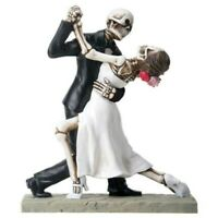 NEW! Day of the Dead Wedding Couple Dancing Bride Groom DOD Statue Figure 8067