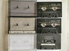 TDK MA90 Metal Position Cassette Tape x2 In used condition + Maxell Metal CD 60