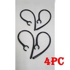 4 PC Gancho Orejas Soporte Auricular Bluetooth Auricular Blanco y Negro Earhook