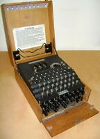 Framed Print - World War 2 German Enigma Machine (Military Codebreakers WW2 WW1)