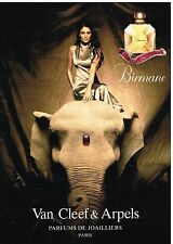 Publicité Advertising 2000 Parfum Birmane par van Cleef & arpels