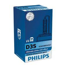 D3S XENON PHILIPS WHITEVISION gen2 42403WHV2C1 HID Lampadina Del Faro 5000K SINGLE