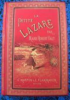 PETITE LAZARE JOLI CARTONNAGE SOUZE ENGEL *GRAVURES *CHARME LIVRE BOOK ENFANTINA