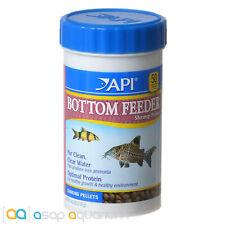 API Bottom Feeder Shrimp Pellets Fish Food 4oz (113g) Catfish Loaches Pelcos