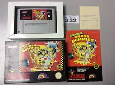 Super Nintendo The Incredible Crash Dummies Boxed