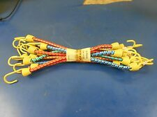 """16"""" PACK OF 10 BUNGEE CORDS MOTORCYCLE, BICYCLES, MINI BIKES. MADE IN FRANCE,"""