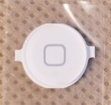 NEW iPhone 4 GSM/CDMA External Home Button A1332 A1349 - WHITE - USA SELLER