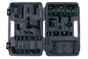 Transmission Fluid ATF Fluid Oil Dispenser Adaptor Tool Set 20pce In Case