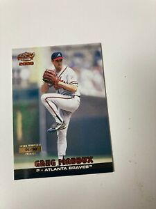 Greg Maddux 2000 Pacific COPPER PARALLEL #91/99 #42