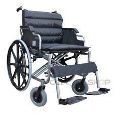 THIRA Sedia a rotelle bariatrica ad autospinta carrozzina per disabili anziani x