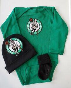 Celtics baby/infant 3pc outfit Celtics baby gift Celtics baby/infant clothes