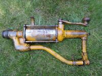 Vintage / Antique Oil Co. Gas Service Station Old Auto Lubester Pump