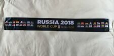 Official FIFA scarfs World Cup 2018. Russia, flags of all participating country