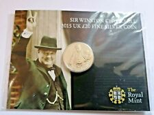 2015 Winston Churchill Twenty Pound Coin £20 Presentation Pack BU Uncirculated