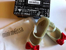 Brand new Mini Melissa Ultragirl SWEET RED BOW Mary Janes Sz 9 100% authentic