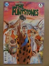 The Flintstones #1 DC 2016 Series SET OF ALL 7 COVERS Variant 9.6 Near Mint+