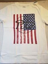Ralph Lauren 100%Cotton USA Banner  Shirt Sz 6 $27.50 uni