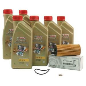 Original BMW Engine Oil 5W30 LongLife-04 6 Litre + Oil Filter 11428507683 5W30