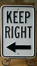 Backwards HEAVY EMBOSSED STEEL STREET SIGN (B)