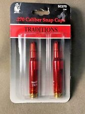 Traditions .270 Caliber Snap Caps Rifle  2 Pack   SC270