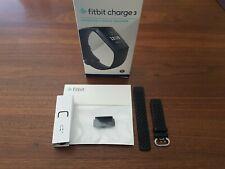 Fitbit Charge 3 Aktivitätstracker - Schwarz/Aluminum-Graphitgrau