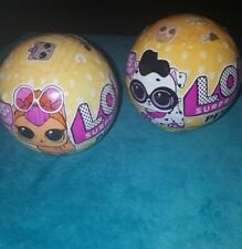 LOL SURPRISE! Series 3 PETS Wave 1 & 2 Ball Set Of 2 Balls L.O.L. Dog Cat