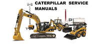 CATERPILLAR CAT E70B EXCAVATOR 5TG SERVICE AND REPAIR MANUAL