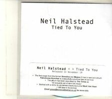 (DT714) Neil Halstead, Tied To You - DJ CD