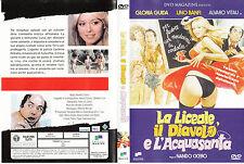 La liceale, il diavolo e l'acquasanta (1979) DVD - EX NOLEGGIO