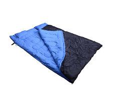 CAMP Campeggio Viaggio Sacco a pelo sonno Cozy Thick Caldo Outdoor DOPPIA Adulto Nuovo