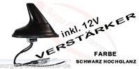 Shark Hai Antenne inkl. Verstärker für PEUGEOT 106 107 206 207 306 307 308 SW