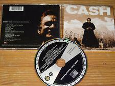 JOHNNY CASH - AMERICAN RECORDINGS / ALBUM-CD 1994 MINT-