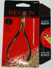 Revlon Cuticle Nipper Gold Series Titanium Coated 42016 NEW