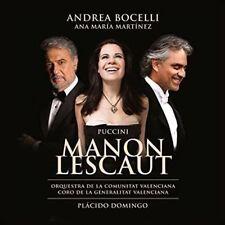 PUCCINI MANON LESCAUT ANDREA BOCELLI ANA MARIA MARTINEZ CD NEW SEALED 2 DISCS