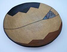 Vintage Modernist Japanese? Studio Pottery Burlap Bowl Centerpiece-Large!