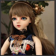 """New 24"""" 1/3 Handmade PVC BJD MSD Lifelike Dolls Joint Dolls Girl Gift Kristin"""