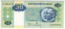 **   ANGOLA     50  kwanzas   1999   p-146a    UNC   **