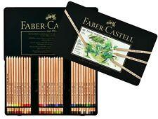 Colour pencil PITT PASTEL tin Pastels Pencils FABER CASTELL of 60 colours