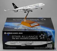 """Lufthansa A340-300 """"Star Alliance """" Reg:D-AIGY JC Wings 1:200 Diecast     XX2093"""