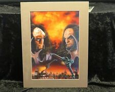 "Deep Space Nine ""Testament By Fire"" Signed Lithograph"