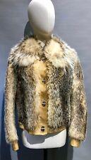 Saring Handmade Real Fox Fur Jacket RRP £750 Size: UK10 Worn 3 Times.