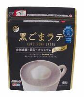 Black Sesame Latte Drink Powder 150g x 6 pcs from Japan