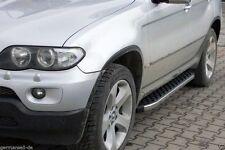 BMW X5 I Baujahr 2000 - 2006 | Aluminium Trittbretter Trittstufen mit TÜV ABE